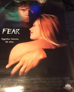 fear promo poster minor edge creasing frame will cover damage