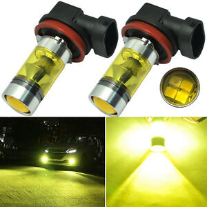 Driving Lamps Gold 4300K DC 12V CREE H8 H11 LED Replacement Bulb For Fog Lights
