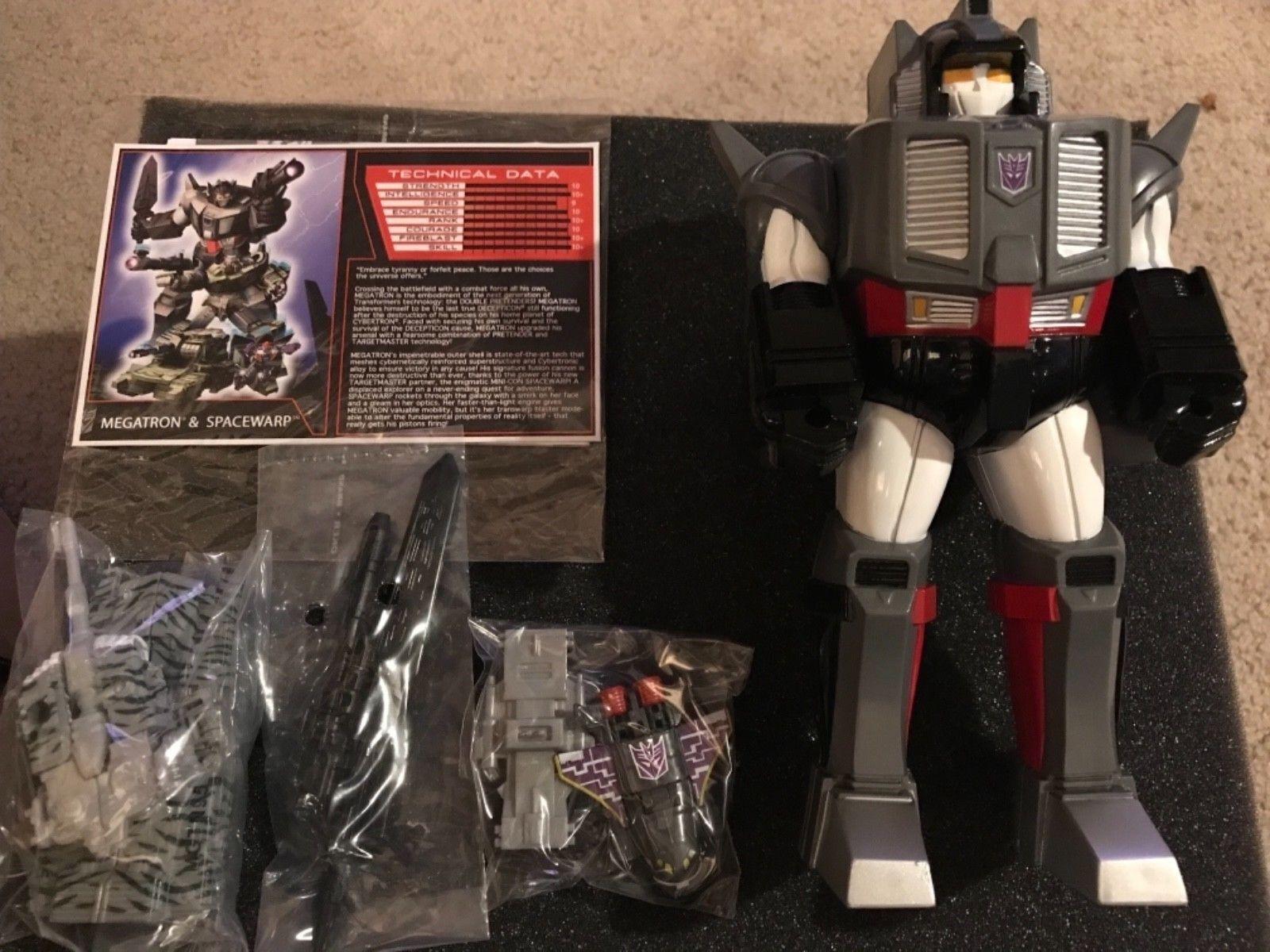 Transformers Funpub TFCC TFSS Subscription 5.0 Pretender Megatron spacewarp New