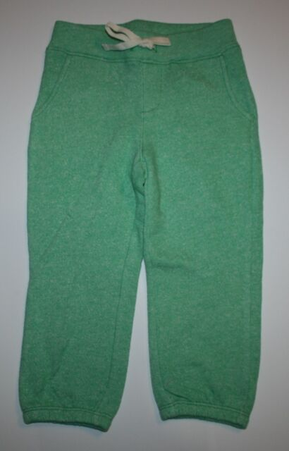 New Gap Kids Heather Green Sweatpants Size 6 7 Year S NWT Pants