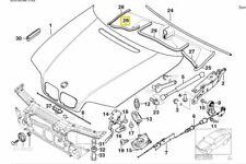 e46 engine bay diagram genuine bmw e46 3 series engine bay bonnet rubber seal gasket  genuine bmw e46 3 series engine bay