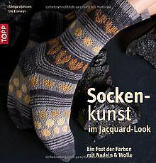Sockenkunst im Jacquard-Look: Ein Fest der Farben m...   Buch   Zustand sehr gut