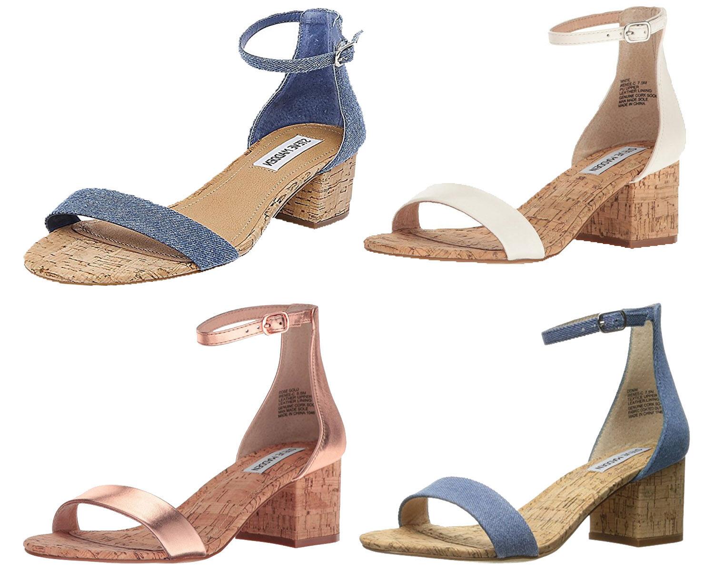 Steve Madden Para Para Para Mujer Vestido Irenee-C Sandalia, opciones de Color  oferta de tienda