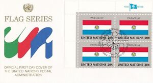 UN149-United-Nations-1984-Paraguay-20c-Stamp-Flag-Series-FDC-Price-8-00