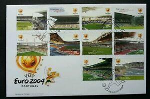 SJ-Portugal-Euro-Football-2004-Championship-Cup-Sport-Games-Stadium-FDC