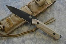 Benchmade 141SBKSN Nimravus Fixed Blade Tactical Knife w Molle Sheath Included