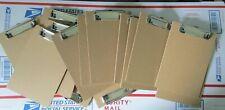 Qty 18 Mini Clipboard 6 X 9 Memo Clipboard Small Clipboard Ships Free Usa