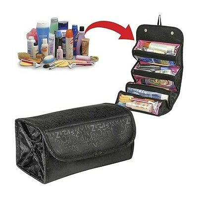 Travel Hanging Shaving Makeup Cosmetics Toiletry Wash Pouch Case Bag Organizer
