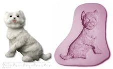 DOG; WESTIE / SCOTTIE Craft Sugarcraft Sculpey Silicone Rubber Mould