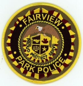 FAIRVIEW POLICE TENNESSEE TN PATCH SHERIFF #1 OF 2