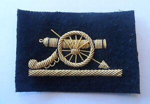 Royal-Artillery-SNCO-Gun-Mess-RA-Sleeve-Army-New-Gold-Black