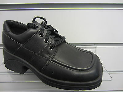 Girls Black Clarks Lace Up Shoes Friends