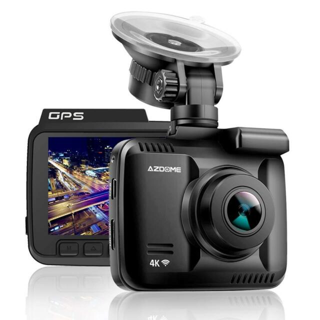 Ultra HD 4K Autokamera Dashcam AZDOME WIFI GPS 170° Weitwinkel Video Recorder