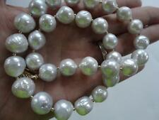 GENUINE KASUMI PEARLS AND SOLID 14K YELLOW GOLD NECKLACE BY ANELE SINGH STUDIO