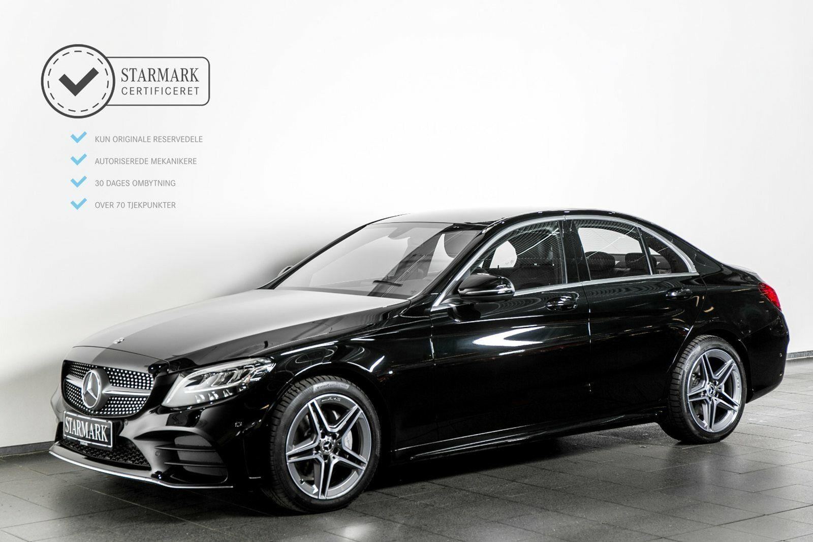 Mercedes C220 d 2,0 AMG Line aut. 4d - 479.900 kr.
