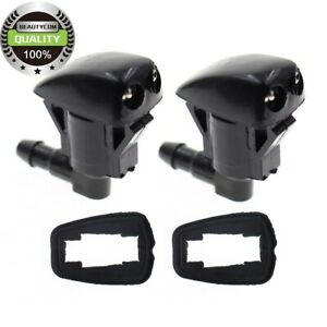2XNew Windshield Wiper Washer Nozzle Spray Jet  For GMC Acadia Saturn Outlook