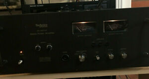 Vintage-Working-Technics-se-9600p-Stereo-Endstufe-110-wpc-8ohm-1974