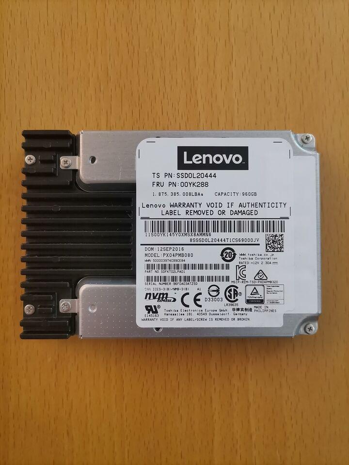Lenovo, 960 GB, Perfekt