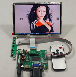HDMI-VGA-2AV-LCD-driver-board-7inch-HSD070PWW1-B00-1280X800-IPS-lcd-panel-Remote