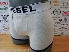 DIESEL Boxer Shorts 00AEJ UMB-BREDDOX Grey Cotton Rich Jersey Trunk Boxed RRP£30
