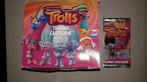 Trolls Trading Card Game - 49 paquets
