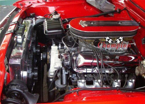 1964 FORD GALAXIE 500XL 3 Row All Aluminum Champion Radiator DR