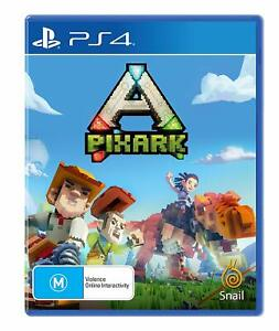 PixARK-Sony-PS4-Playstation-4-Crafting-Aventure-Game-64-Players-Creative-Mode