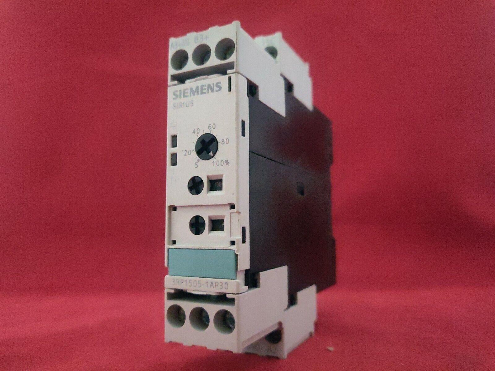 Siemens Sirius 3rp1505-1ap30 temporisé-Used