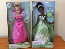 Disney Princess and frog Charlotte La Bouff Doll Blonde Tiana/'s friend nude
