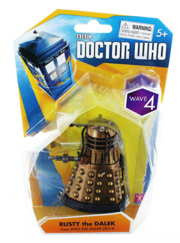 """Doctor Who 3.75/"""" Action Figure Into The Dalek Rusty The Dalek"""