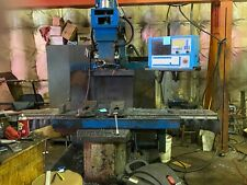 New Listingtrak Bed Mill With 3 Axis M 400 Control Model Em2000 Mfg Date 1997 650000