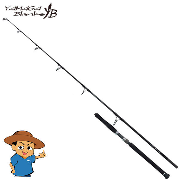 Yamaga blanks azulreef GT 710 10 a 7' 10  Barra de agua salada para pesca Spinning