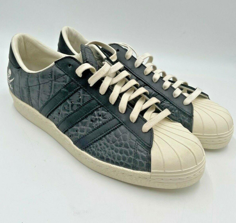New NEIGHBORHOOD x ADIDAS Consortium Superstar 10th Anniversary Shoes 12M