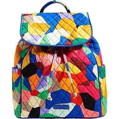 With Tags Vera Bradley Pop Art Drawstring Backpack for sale online ... cf677eb83de13