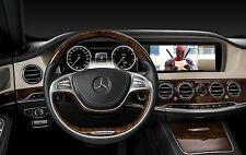 2014-2016 Mercedes-Benz S-Class W222 HDMI Video interface TV DVD iPod Backup Cam