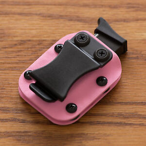 Pink Kydex Magazine Pouch Model 5 .32 .380 ACP IWB OWB Ambidextrous Adjustable