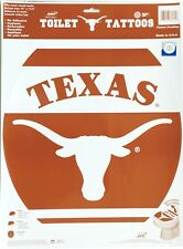 Pleasing Ut Texas Longhorns Toilet Seat Tattoo Cover Decal Official Unemploymentrelief Wooden Chair Designs For Living Room Unemploymentrelieforg