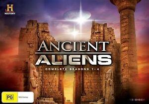 Details about Ancient Aliens : Season 1-4 (DVD, 2014, 13-Disc Set) - Region  4