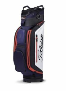 Titleist Club 14 Golf Cart Trolley Bag New With Tags    Navy\White\Black\Red