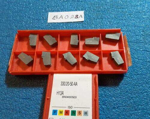 SANDVIK  330.20-50-AA H13A  CARBIDE INSERTS  10 PCS