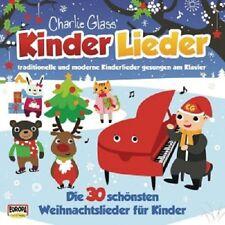 CHARLIE GLASS - KINDER WEIHNACHT-DIE 30 SCHÖNSTEN WEIHNACHTSLIEDER  CD NEU