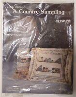 Linda Dennis' A Country Sampling Needlepoint Chart Kit