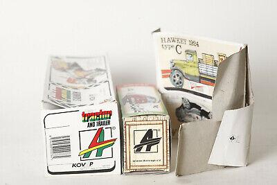 Kovap 3x Vuoto Cartoni 0496 Büssing'59 + Hawkey'24 + Trattore U Etlco. (114812)-mostra Il Titolo Originale