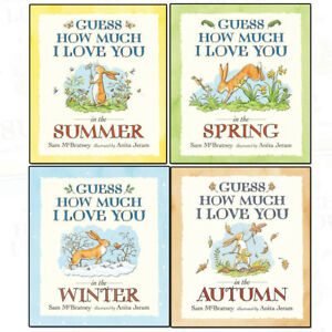 0d638742217d Sam McBratney 4 Books Collection Set (Guess How Much I Love You in ...