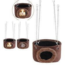 Hammock for Pet Ferret Rat Hamster Parrot Squirrel Hanging Bed Toy House