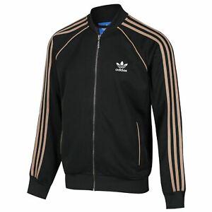 Adidas-Originaux-Retro-Vert-Superstar-Veste-de-Survetement-Blanc-Trefoil-3