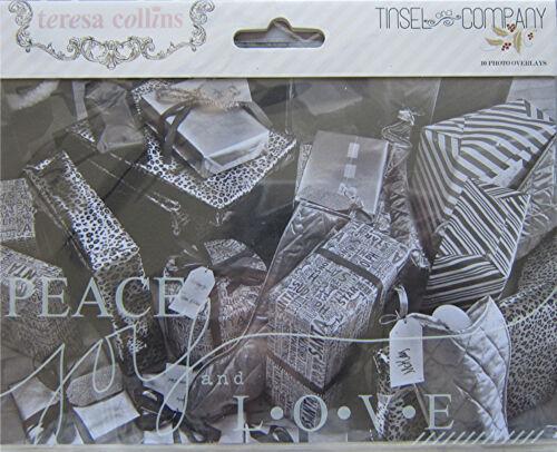 TINSEL /& COMPANY Save 65/% Textured Paper /& Embellishments A Teresa Collins