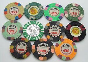 Poker chip breakdown for $20 power spin