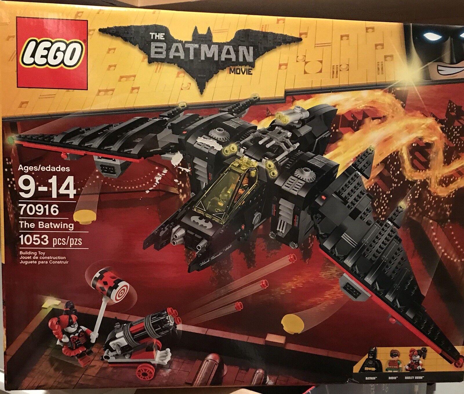 La película Lego Batman el ala de murciélago 2017 (70916) Nueva En Caja