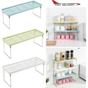 Adjustable-Standing-Rack-Kitchen-Bathroom-Storage-Organizer-Shelf-Holder-Rack